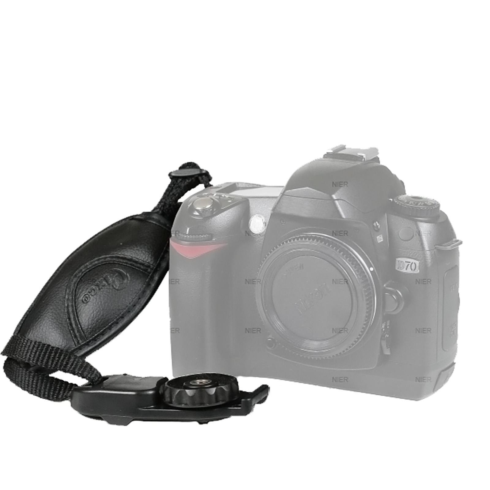 Detalles de Handschlaufe Leder für Canon EOS 1000D 700D 650D 600D ...