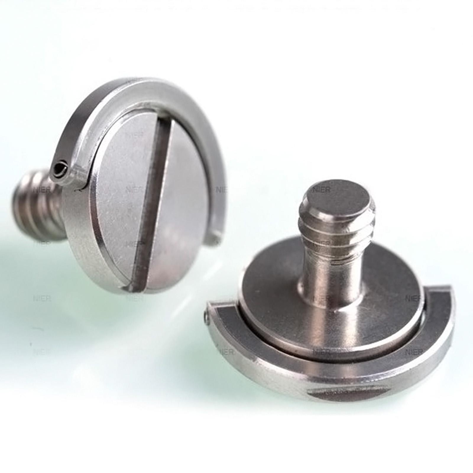 kamera schraube 1 4 zoll mit b gel ring schraube stativ schnellwechsel gewinde ebay. Black Bedroom Furniture Sets. Home Design Ideas