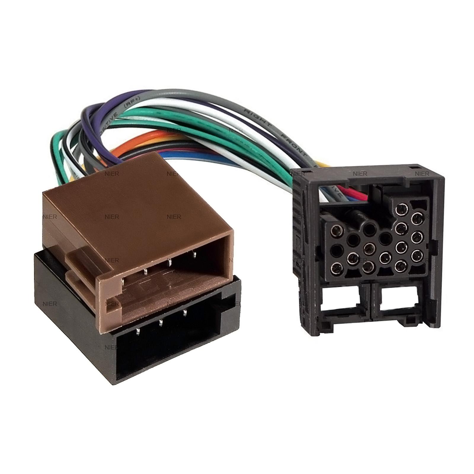 adapter cable for bmw car radio din iso 1er 3er 5er z3 e30. Black Bedroom Furniture Sets. Home Design Ideas