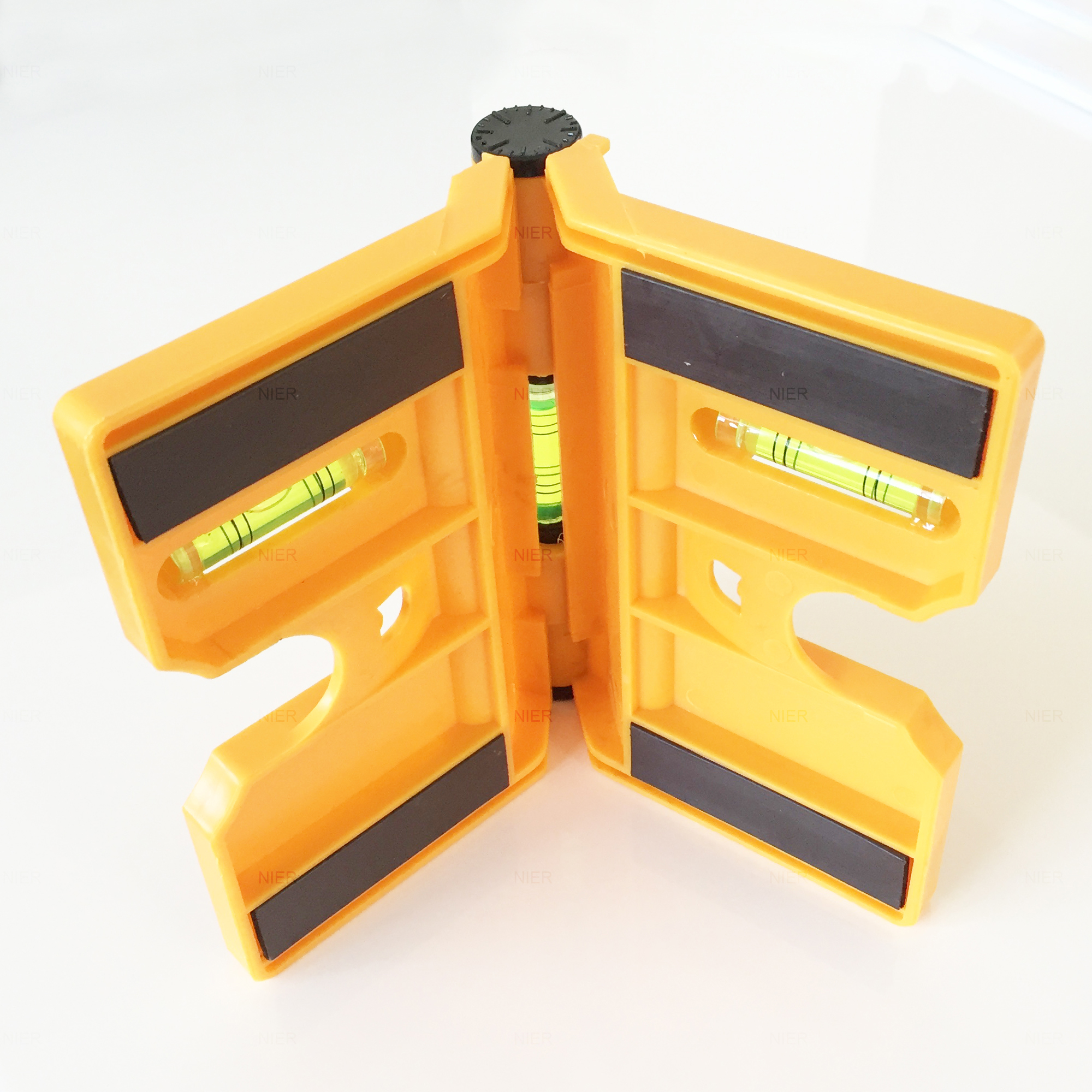 Post Level Post Magnetic Angle Spirit Level Wing Water Scale