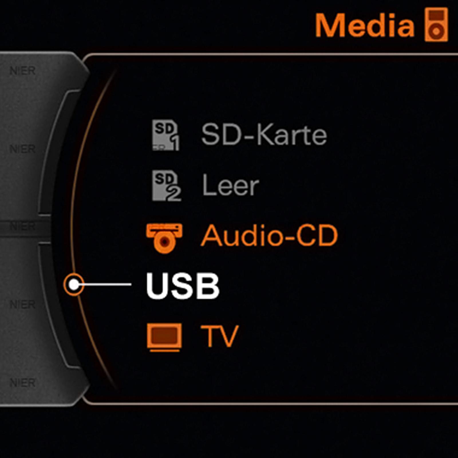 Media In Kabel Audi Volkswagen Skoda Seat Usb: AMI MMI USB Adapter Kabel Für VW Seat Skoda Audi A3 A4 S4